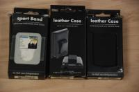 Three Leather case for IPOD Nano 3 rd Generation