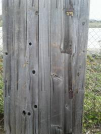 Rustic Wooden Gates