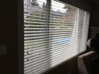 "2"" Wood slat blinds ..5 in total"
