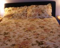 Beautiful Cotton Coverlet & Shams