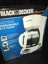 NEW-Black & Decker 12-cup Programmable Coffeemaker