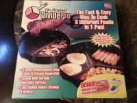 "THE ORIGINAL DIVIDE PRO PAN SET - NEW! - ""AS SEEN ON TV&qu"