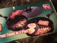 "THE ORIGINAL DIVIDE PRO PAN SET - NEW! - ""AS SEEN ON TV&am"