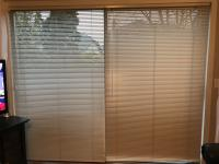 Venetian Blinds for Large Slding Door