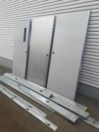 Heavy Metal Industrial Doors NEW