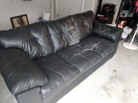 Leather Couch - Needs Cover