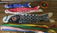Japanese carp streamer set - Koinobori