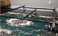 FREE METAL DOUBLE BED FRAME