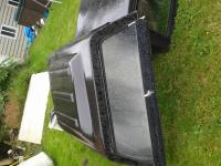 chevy s10 truck bed liner & canopy