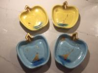 Retro Apple shaped dishes