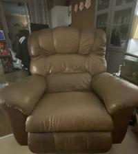Leather LayZBoy recliner