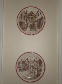 Bits of Old England Plates by Vernon Kilns
