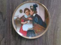 Collector plate - Gossiping in the Alcove