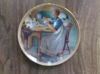 Collector Plate - Working in the Kitchen