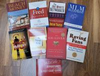 8 Marketing Books used for SendOutCards