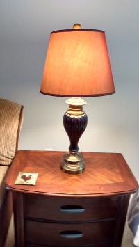 Side Table Tri-Light Lamp