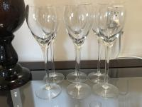 Glassware - wine, champagne etc
