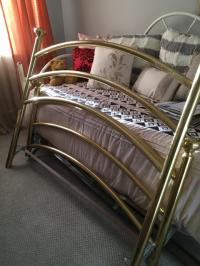 Brass Queen Size Bed Frame