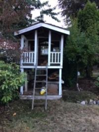 Wooden Children's Playhouse
