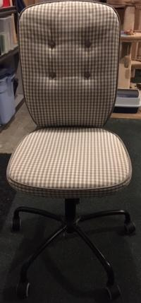 Office chair - fabric cover