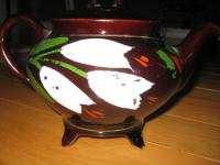 Electric Royal Canadian Art Pottery Tea Pot