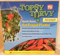 BRAND NEW: Topsy Turvy Hot Pepper Planter