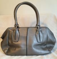 BRAND NEW: Pewter Purse/Small Tote