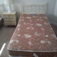 FREE twin beds & night table