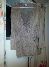 Cleo Ladies Wrap Top Size L
