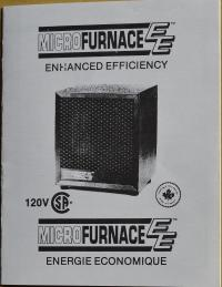 Micro Furnace EE Enhanced Efficiency Portable