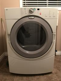 Whirlpool Duet Dryer White/Dark Grey