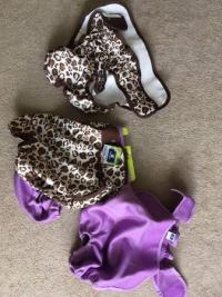 4 XL Cloth Dog Diapers